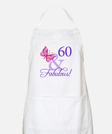 60 And Fabulous Apron