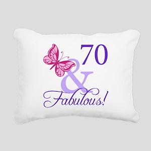 70 And Fabulous Rectangular Canvas Pillow