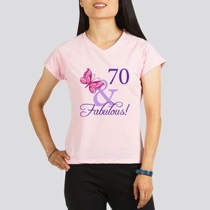 70 And Fabulous Performance Dry T-Shirt
