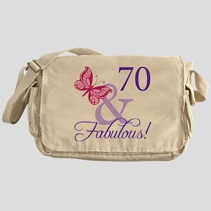 70 And Fabulous Messenger Bag