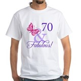 70th birthday Mens Classic White T-Shirts