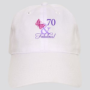 70 And Fabulous Cap