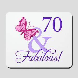 70 And Fabulous Mousepad