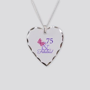 75 And Fabulous Necklace Heart Charm