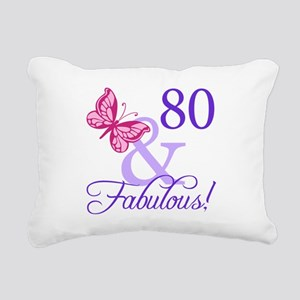80 And Fabulous Rectangular Canvas Pillow