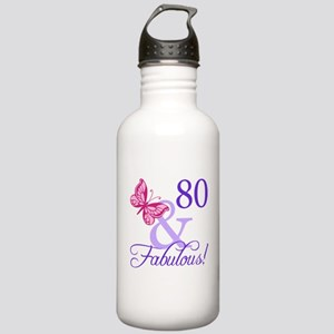 80 And Fabulous Stainless Water Bottle 1.0L