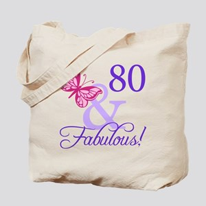 80 And Fabulous Tote Bag