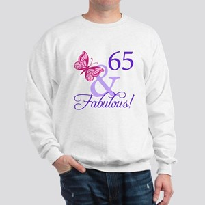 65 And Fabulous Sweatshirt