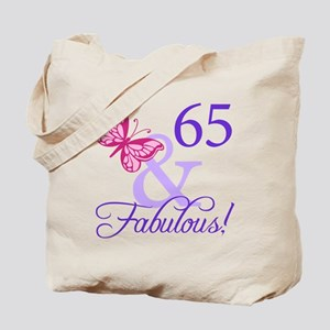 65 And Fabulous Tote Bag
