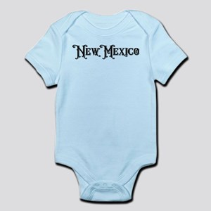 New Mexico vintage type state Body Suit