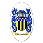 Attenborough Sticker (Oval 50 pk)