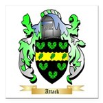 Attack Square Car Magnet 3