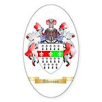 Atkinson Sticker (Oval 50 pk)
