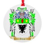 Atkin Round Ornament