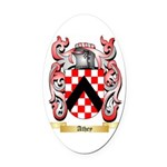 Athey Oval Car Magnet