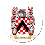 Athey Round Car Magnet