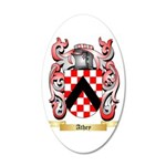 Athey 20x12 Oval Wall Decal