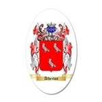 Atherton 35x21 Oval Wall Decal