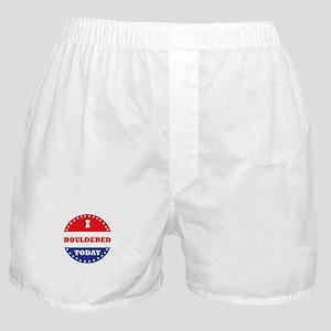 I Bouldered Today Boxer Shorts