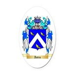 Astin Oval Car Magnet