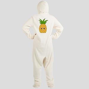 Pineapple Footed Pajamas
