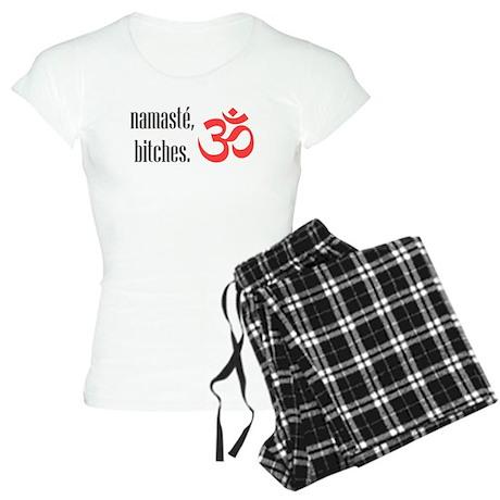 Namaste, bitches Women's Light Pajamas