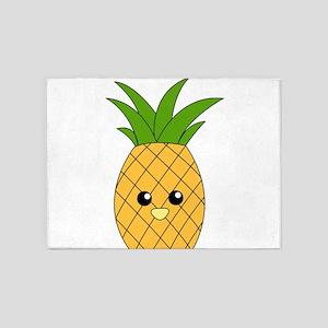 Pineapple 5'x7'Area Rug