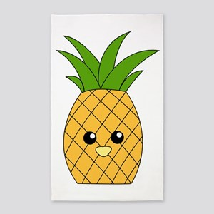 Pineapple 3'x5' Area Rug