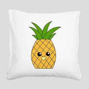 Pineapple Square Canvas Pillow