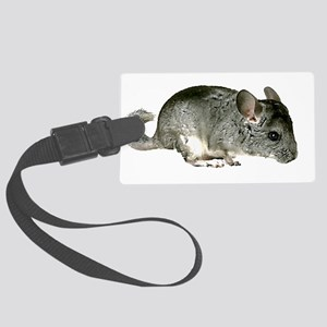 Simply Chinchilla Large Luggage Tag