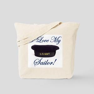 I LOVE MY SAILOR Tote Bag