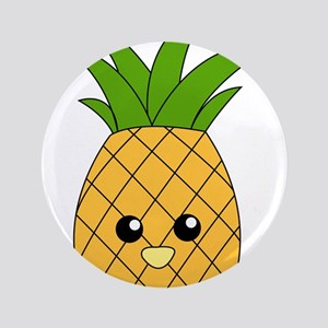 """Pineapple 3.5"""" Button"""