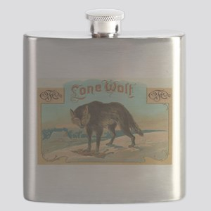 Lone Wolf Flask