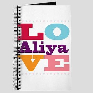 I Love Aliya Journal