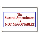 NOT NEGOTIABLE Banner