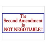 NOT NEGOTIABLE Small Poster
