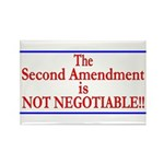 NOT NEGOTIABLE Rectangle Magnet (100 pack)