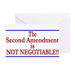 NOT NEGOTIABLE Greeting Card