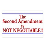 NOT NEGOTIABLE Postcards (Package of 8)