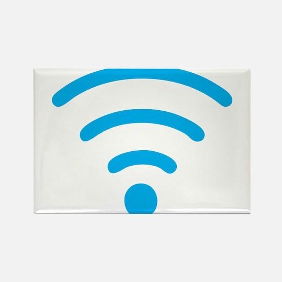 FREE Wireless Internet Rectangle Magnet