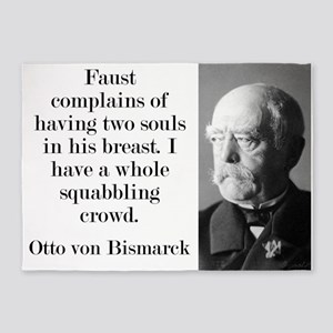 Faust Complains - Bismarck 5'x7'Area Rug