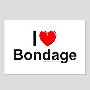 Bondage Postcards (Package of 8)