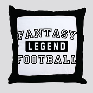 Fantasy FootballLegend Throw Pillow
