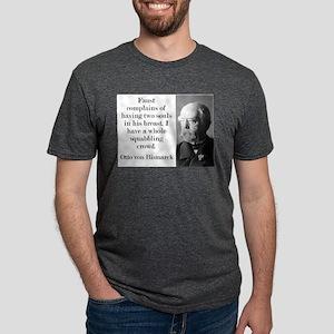 Faust Complains - Bismarck Mens Tri-blend T-Shirt