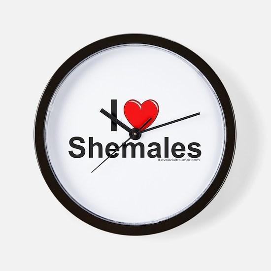 Shemales Wall Clock