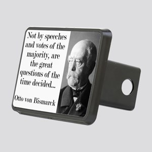Not By Speeches And Votes - Bismarck Hitch Cover