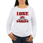 Great Love (Family) Women's Long Sleeve T-Shirt