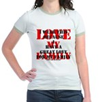 Great Love (Family) Jr. Ringer T-Shirt