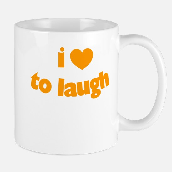 I Love To Laugh Mug