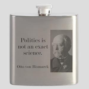Politics Is Not An Exact Science - Bismarck Flask